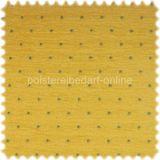 AKTION Möbelstoff 100% Baumwolle Smarty Zitrone Punktmuster 001