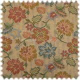 AKTION Baumwoll Floral Flachgewebe Angers Beige 001