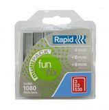 1080 Klammern Rapid Typ 3/53/530 3x360 Stck. 4 mm + 6 mm + 8 mm 001