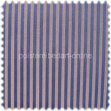 Fashion Möbelstoff Zermatt Streifen Blau-Gold 001