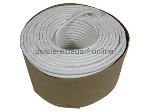 Baumwoll Polyester Keder Schnur 5 mm 50 m