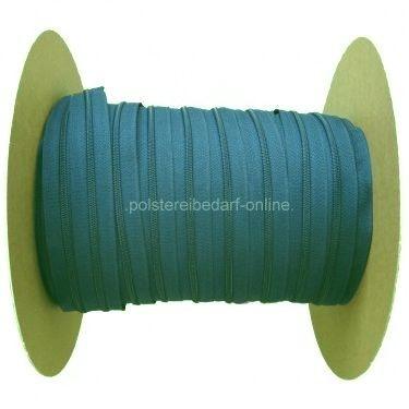 100 Meter Rolle Reißverschluss Hellblau