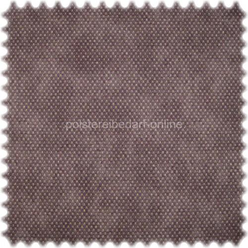 Möbelstoff mit CRYPTON® Nässeschutz Punktmuster Lila