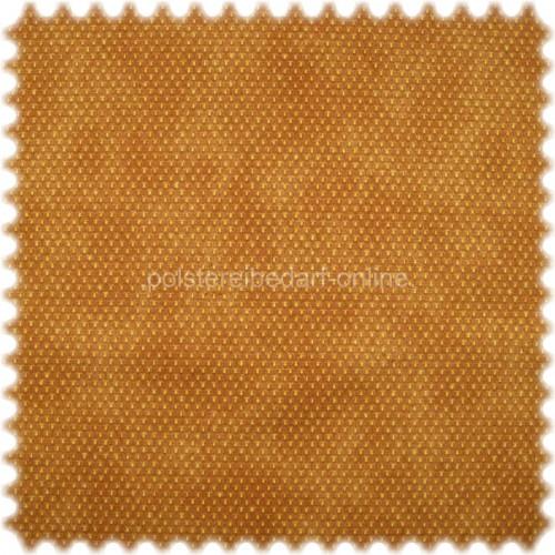 Möbelstoff mit CRYPTON® Nässeschutz Punktmuster Gelb