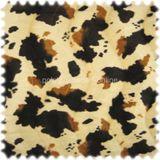 AKTION Webpelz / Tierfellimitat Kuh Creme / Braun / Cognac 001