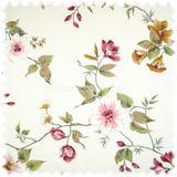 Möbelstoff Flora Wildrose in Englisch Leinen Optik 001