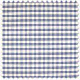 Landhaus Möbelstoff Pisa Klein Karo Blau 001