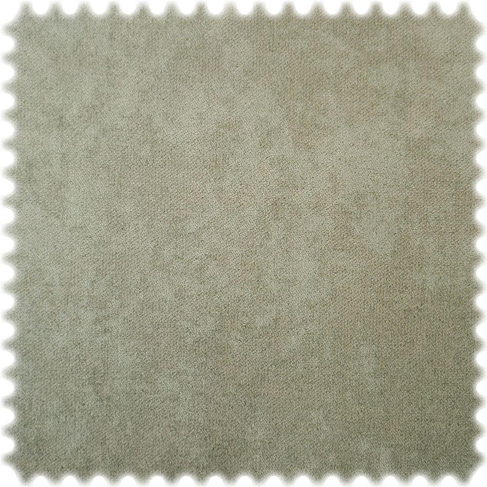 Möbelstoff Velours Heirosoft Pastell Oliv mit Fleckschutz