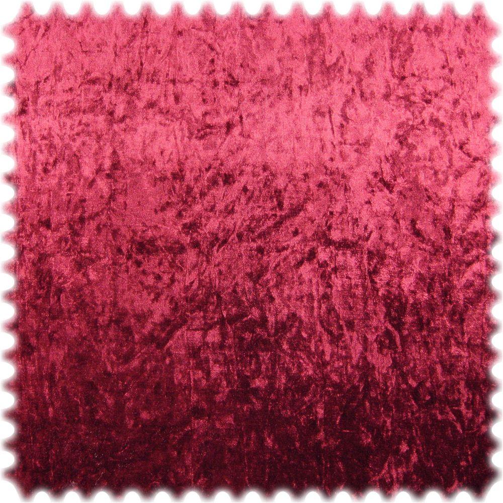 Microfaser Pannesamt Möbelstoff Ghost Bordeaux mit Textilrücken