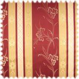 AKTION Italienischer Jaquard Stilmöbelstoff Cantanzaro Bordeaux 001