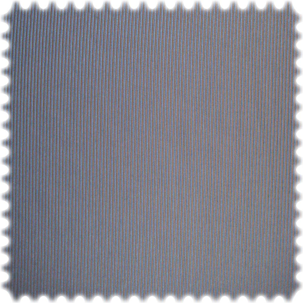 AKTION Eleganter Trevira CS Möbelstoff Rips Peking Blau