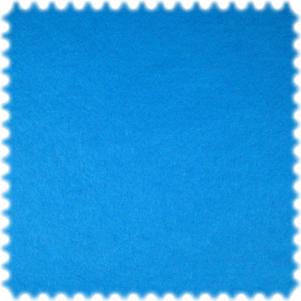 AKTION 30 Meter Ballen Dekorations Bastel Filz Stoff Himmelblau Breite 150 cm