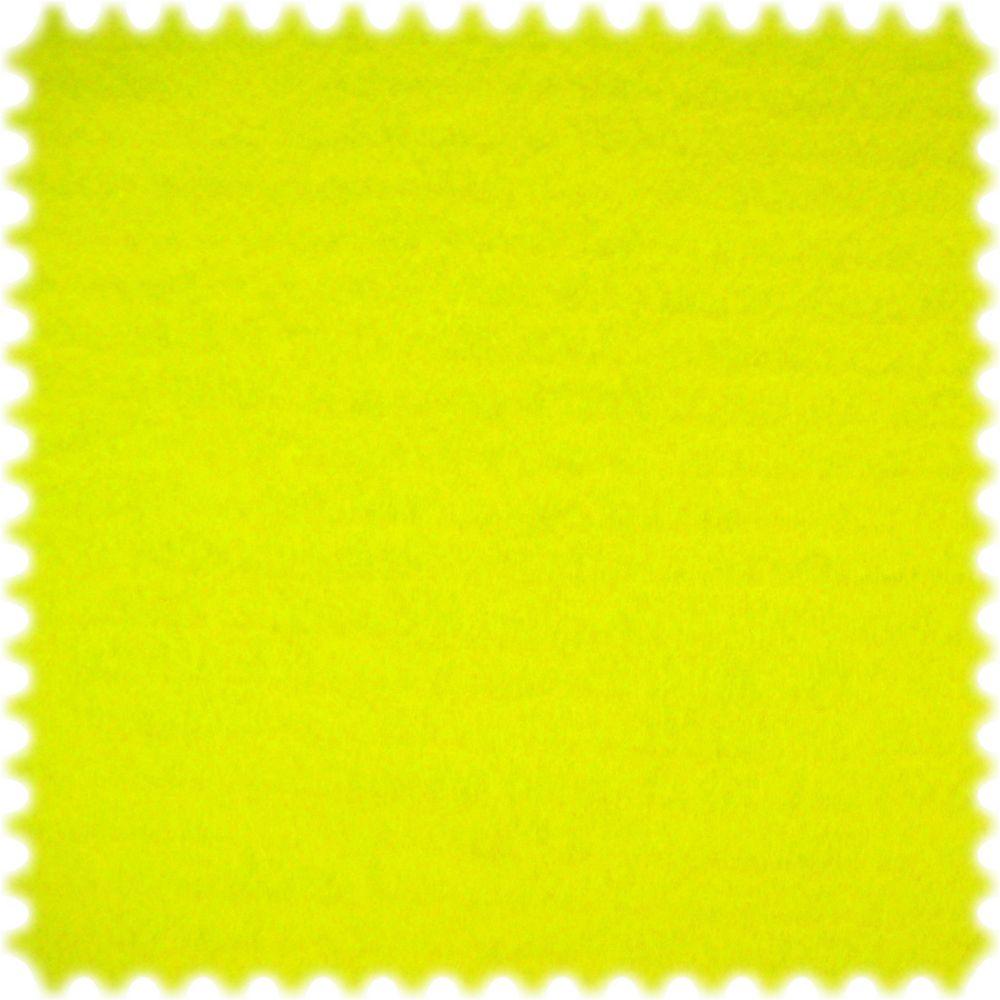 AKTION 30 Meter Ballen Dekorations Bastel Filz Stoff Neongelb Breite 150 cm