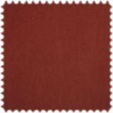 AKTION Original Microfibres® Uni Flockvelours Möbelstoff Toro Oxidrot 001