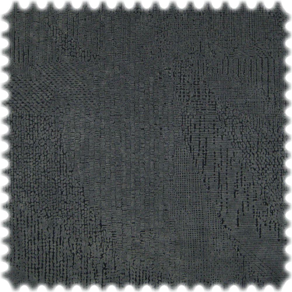 AKTION Original Microfibres® Flockvelours Möbelstoff LONGLIFE Bliss Dunkelgrau