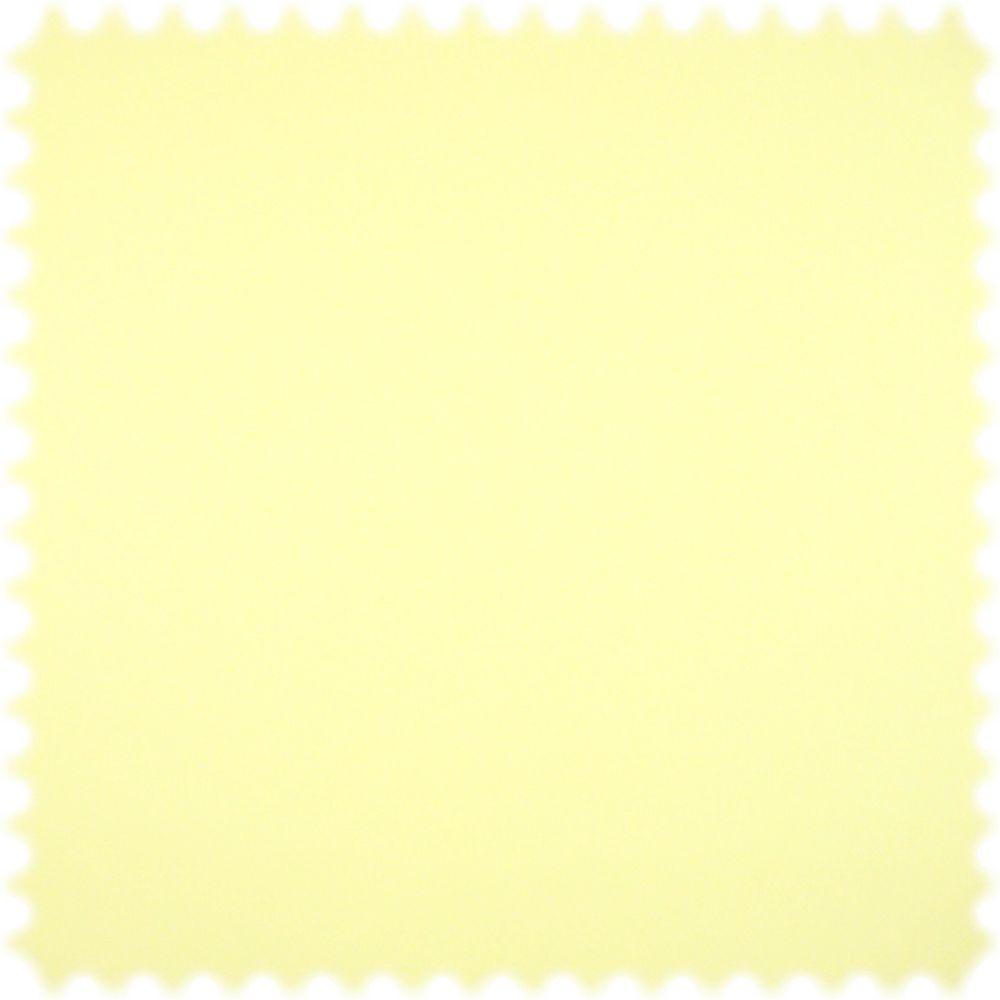 Kunstleder Ecotex Pastell Gelb mit feiner Kalbsledernarbung und Fleckschutz