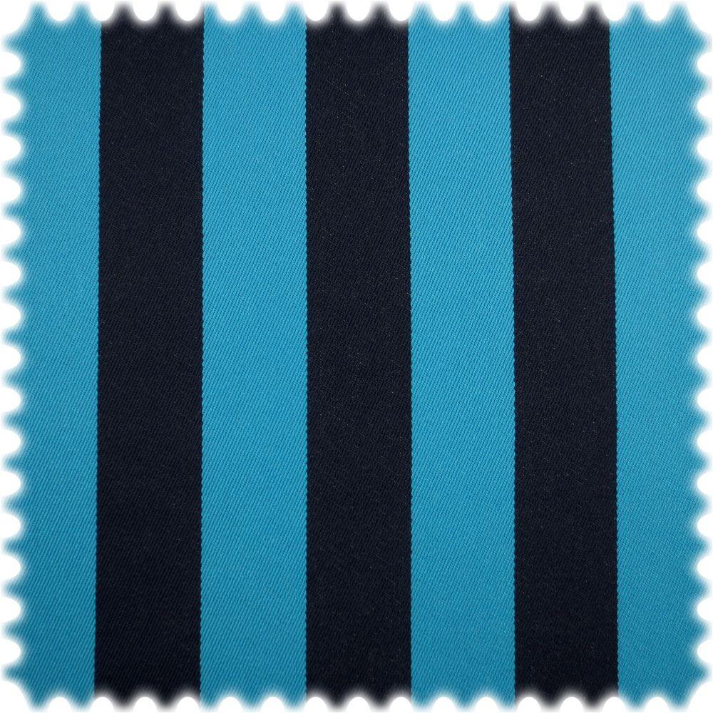 AKTION 100% Baumwolle Möbelstoff Nizza Blau