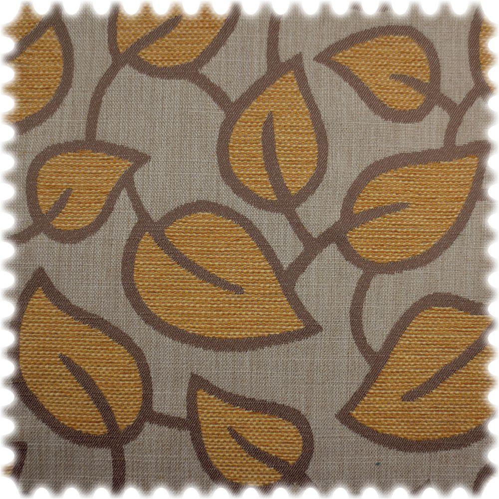 AKTION Webstoff Struktur Möbelstoff Flores Beige / Mango