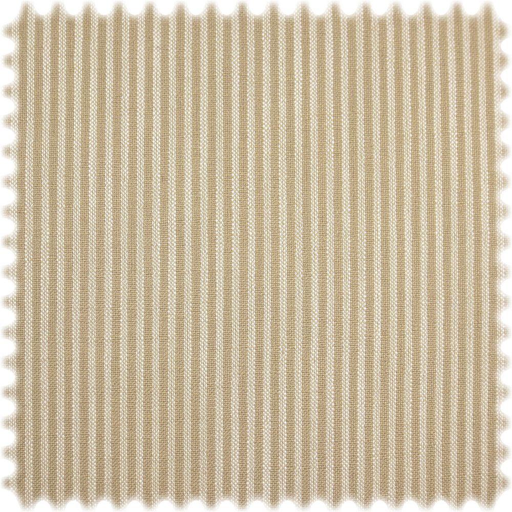 AKTION Streifen Möbelstoff Fine Beige / Weiss mit Fleckschutz