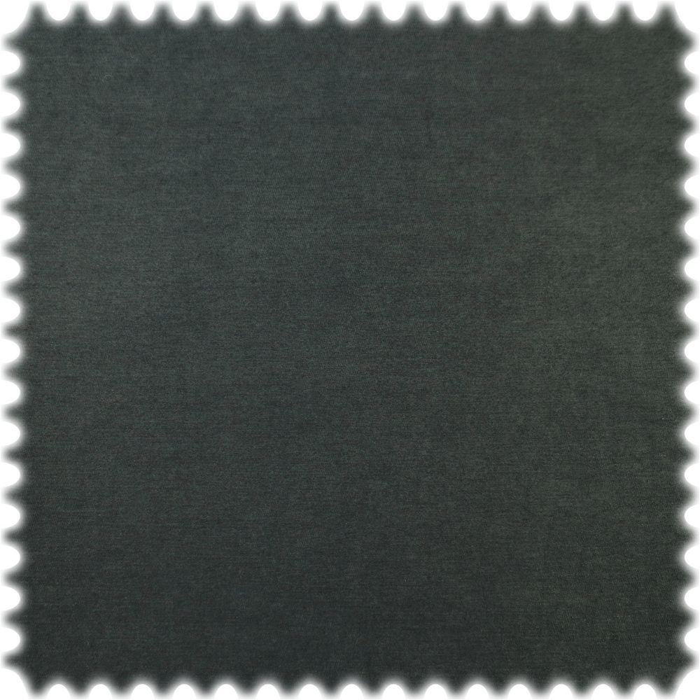 Microfaser Chenille Möbelstoff Classic Schwarz mit DuPont™ Teflon® Fleckschutz