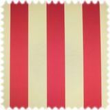 AKTION Trevira CS Jacquard Streifen Möbelstoff Bellevue Rot / Beige 001