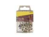 24 Nieten mit Werkzeug Silber 9mm rostfrei 001
